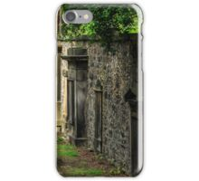 Headstones, The Parish Church of St. Cuthbert, Edinburgh, Scotland iPhone Case/Skin