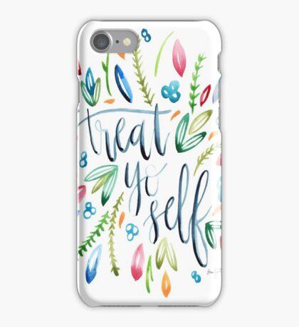 Treat Yo Self Florals iPhone Case/Skin