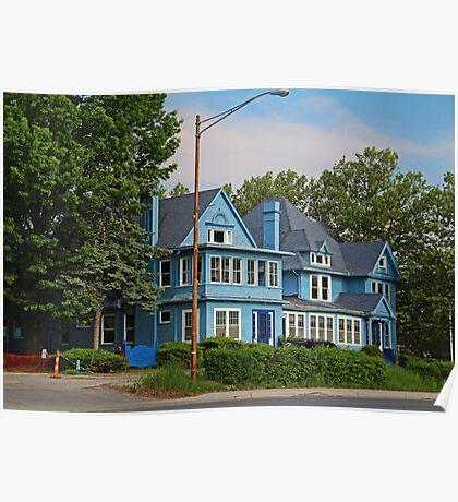 Old West End Blue 30- I Poster