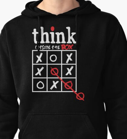 Think Outside The Box Pullover Hoodie