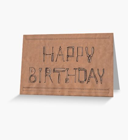 Happy Birthday to your DIY enthusiast! Greeting Card