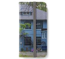 Old West End Blue 30- II iPhone Wallet/Case/Skin