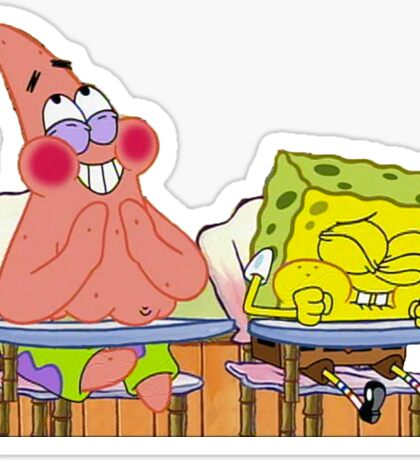 25 spongebob and patrick Sticker