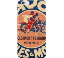 Favor Cycles and Moto iPhone Case/Skin