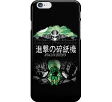 Attack on Shredder (Mikey) iPhone Case/Skin