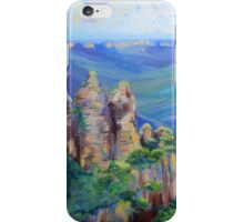 Three Sisters Echo Point, Blue Mountians NSW. iPhone Case/Skin
