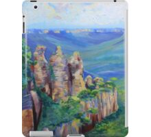 Three Sisters Echo Point, Blue Mountians NSW. iPad Case/Skin