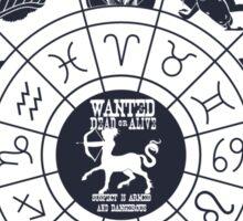 Zodiac Killer-Sagittarius Sticker