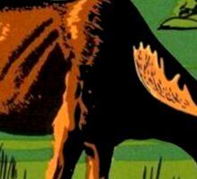 Hope BC British Columbia Moose Vintage Travel Decal Sticker
