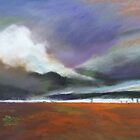 Outback storm with twisters  by Virginia McGowan