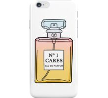 No. 1 Cares iPhone Case/Skin