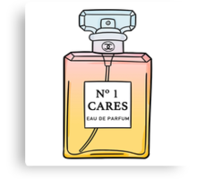 No. 1 Cares Canvas Print