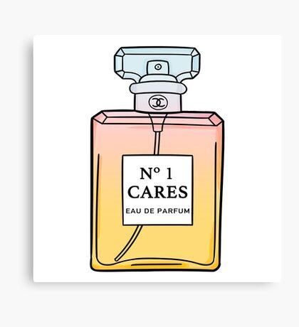 No. 1 Cares Canvas Print