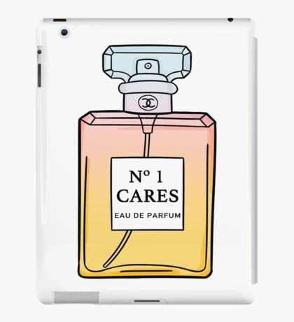 No. 1 Cares iPad Case/Skin