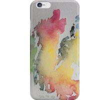 Out of the Woods 1 - Synesthesia Art iPhone Case/Skin
