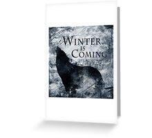 Game of Thrones - House Stark [v2] Greeting Card