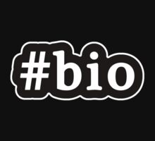 Bio - Hashtag - Black & White Kids Clothes