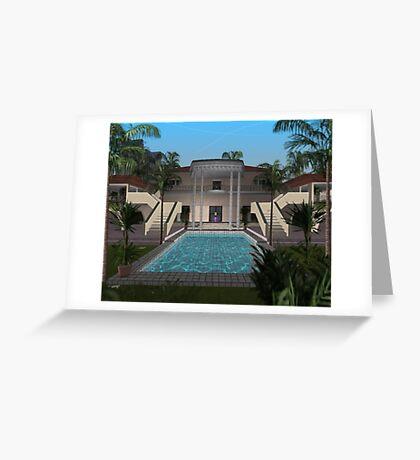 island trap house Greeting Card
