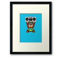 Ghetto Blaster Link Framed Print