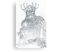 Morgoth and Fingolfin Canvas Print