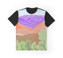 iPad Drawing - Siller's Lookout Graphic T-Shirt