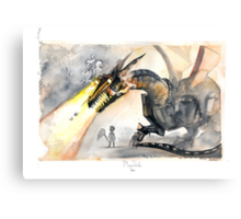 Cyber Dragon Metal Print