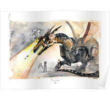 Cyber Dragon Poster