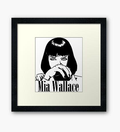 Mia Wallace Framed Print