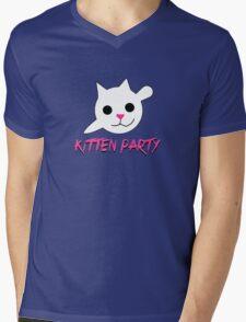 Kitten Party! Mens V-Neck T-Shirt