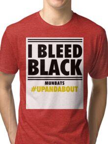 Bleed Black Tri-blend T-Shirt