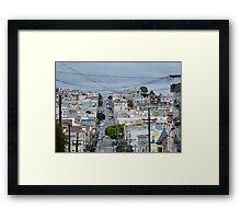 Hills of San Francisco Framed Print
