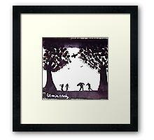 The Dead Play Framed Print