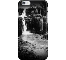Iguaza Falls - No. 10 - monochrome iPhone Case/Skin