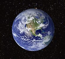Blue Marble - The Planet Earth From Space by flashman