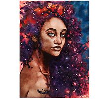 Galaxy Queen Photographic Print