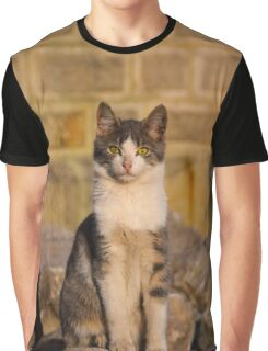 Street Cat Graphic T-Shirt