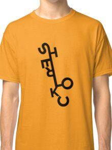 Sherlock - ArtWord of Benedict Classic T-Shirt