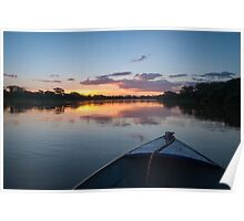 Sunset - Rio Pardo, Brazil Poster