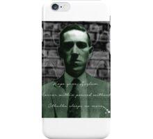 Lovecraft Haiku iPhone Case/Skin