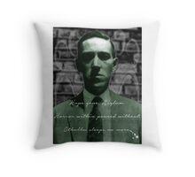 Lovecraft Haiku Throw Pillow