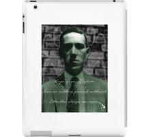 Lovecraft Haiku iPad Case/Skin