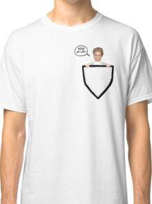 HELLO MY LOVE! Yolanda Foster Pocket Deco Classic T-Shirt