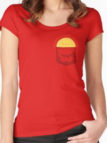 Pocketful of Sunshine Women's Fitted Scoop T-Shirt