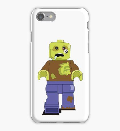 Zombie Lego Man iPhone Case/Skin
