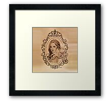 a lady and her paramour Framed Print