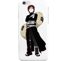 gaara of the sand iPhone Case/Skin