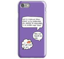 Yeah, but there'll be cake [version 1] iPhone Case/Skin