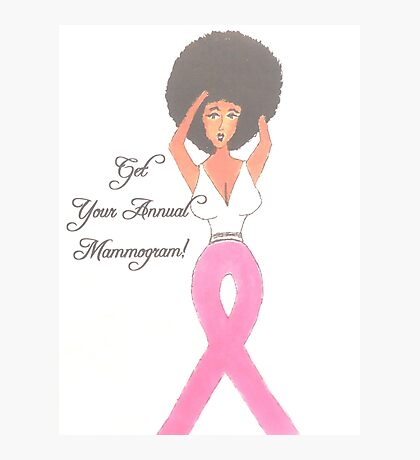 Breast Cancer Gift Items Photographic Print