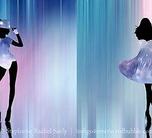 The Best Night Sky Dress Fashion Show by Stephanie Rachel Seely