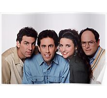 Seinfeld groupe picture Poster